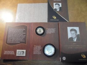 2015 John F. Kennedy Coin & Chronicles Set Contains: