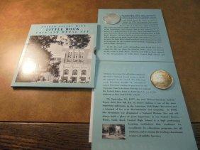 2007 Us Mint Little Rock Coin & Medal Set Original Us