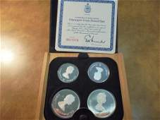 1973 CANADA OLYMPIC COIN PROOF SET 2-$5 & 2-$10