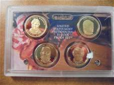 2009 US PRESIDENTIAL DOLLAR PROOF SET NO BOX