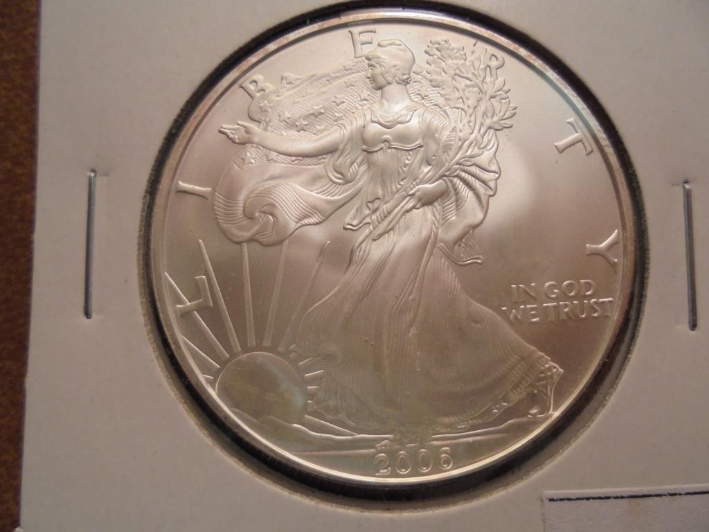 2006 AMERICAN SILVER EAGLE UNC