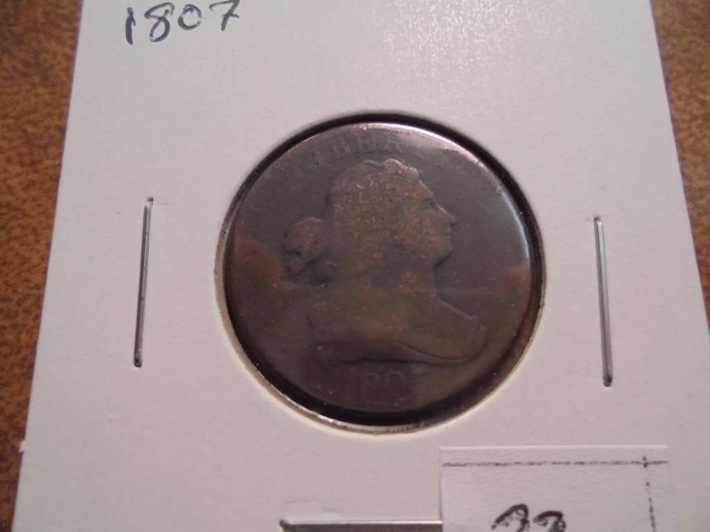 1807 US HALF CENT