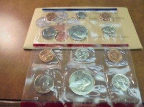 1990 Us Mint Set (unc) P/d (with Envelope)