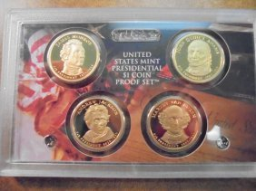 2008 Us Presidential Dollar Proof Set No Box