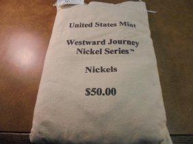 Us Mint $50 Sealed Bag Of 2005-d American Bison