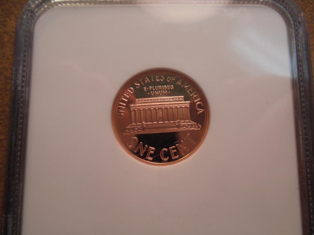 1995-S LINCOLN CENT NGC PF70 RD ULTRA CAMEO - 2