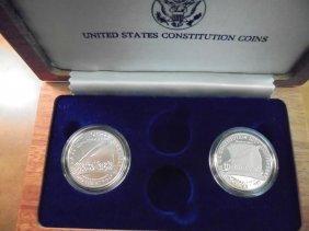 Partial 1987 P & S Us Constitution Commemorative