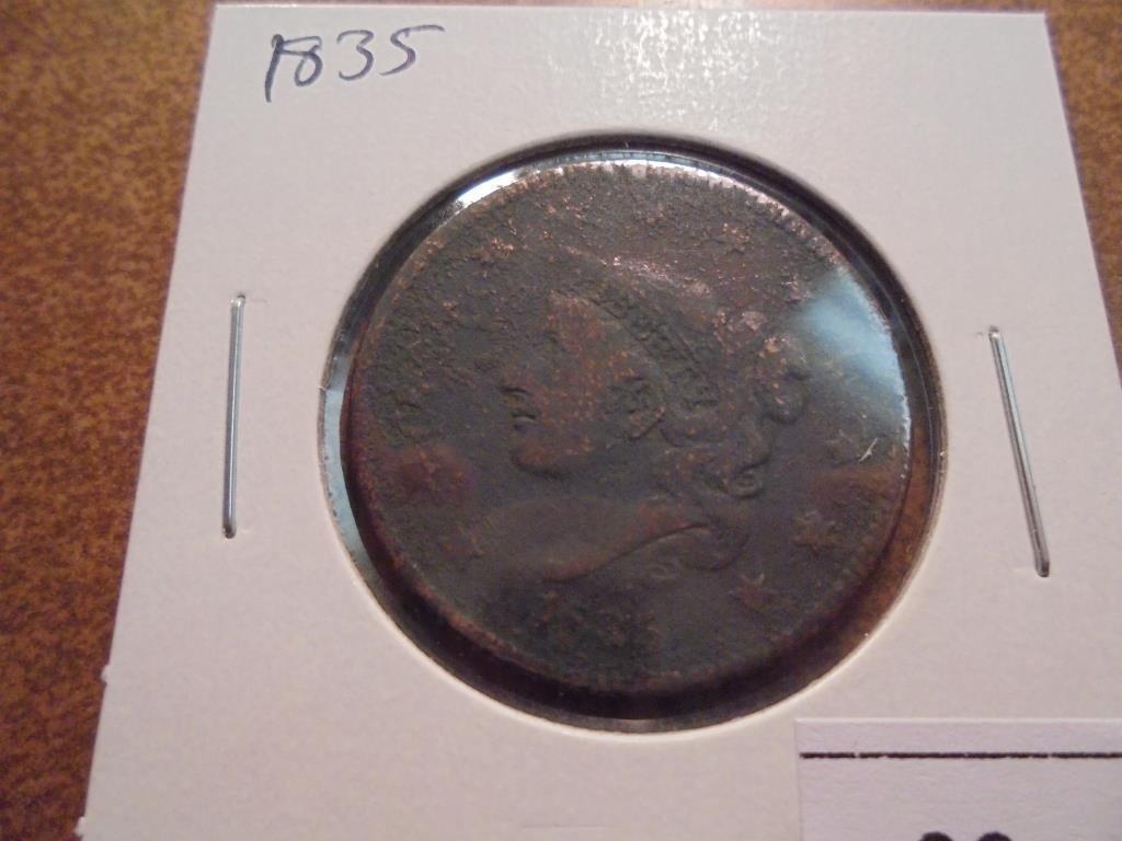 1835 US LARGE CENT