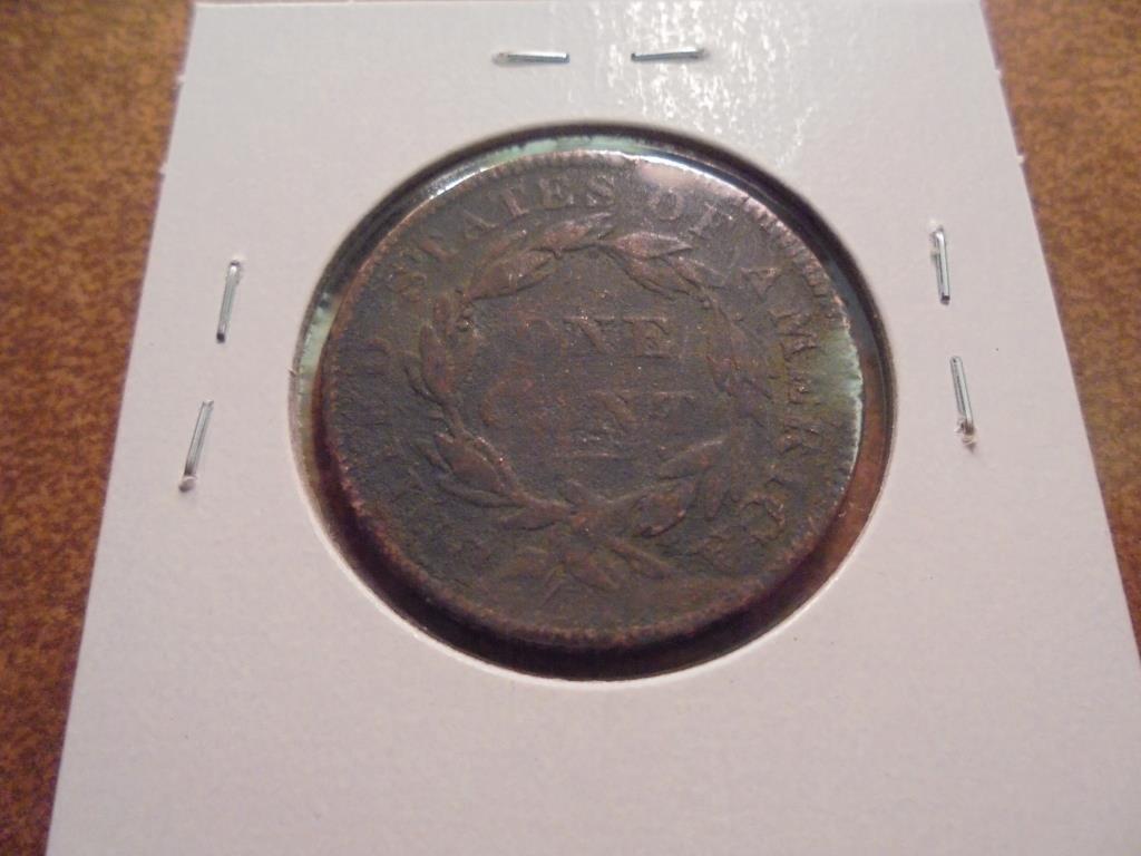 1835 US LARGE CENT - 2