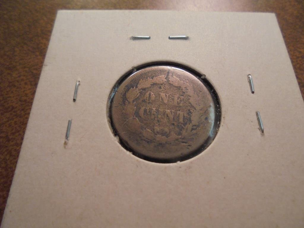 1859 INDIAN HEAD CENT COPPER NICKEL - 2