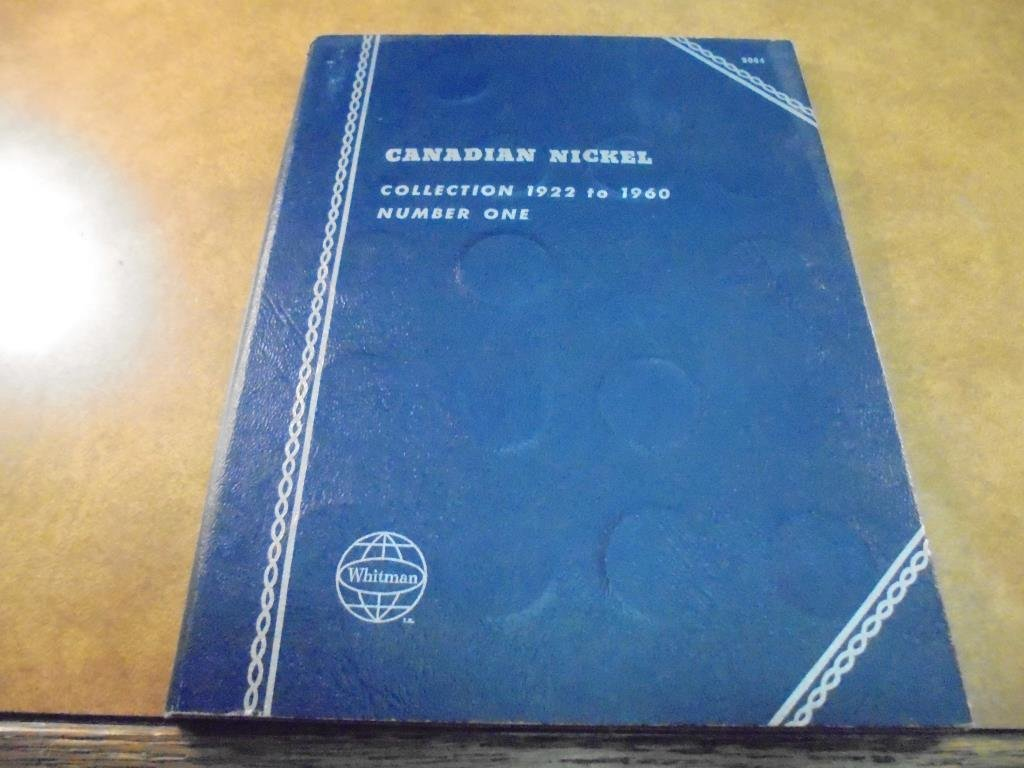 PARTIAL 1922-1960 CANADIAN NICKEL SET 30 COINS - 3