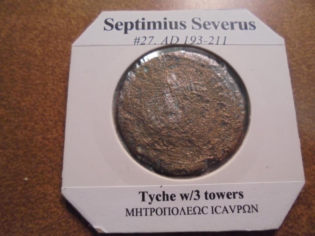 193-211 A.D. SEPTIMIUS SEVERUS ANCIENT COIN - 2