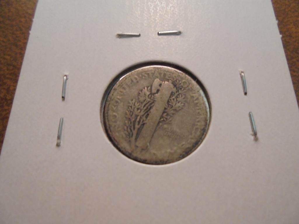 1921 MERCURY DIME KEY DATE - 2