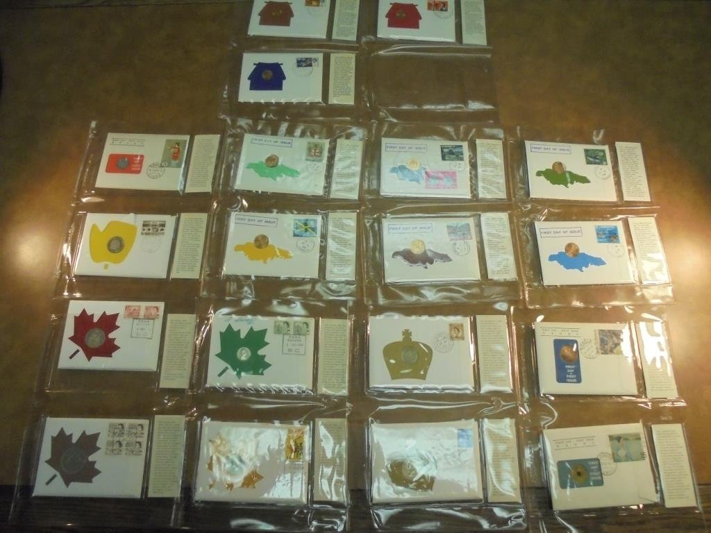 19 ASSORTED 1ST DAY COVERS 1967-1969