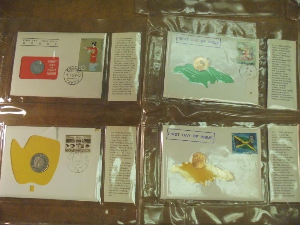 19 ASSORTED 1ST DAY COVERS 1967-1969 - 2