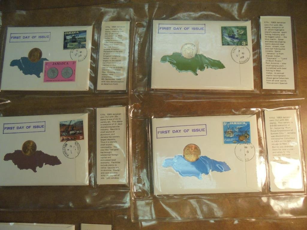 19 ASSORTED 1ST DAY COVERS 1967-1969 - 4