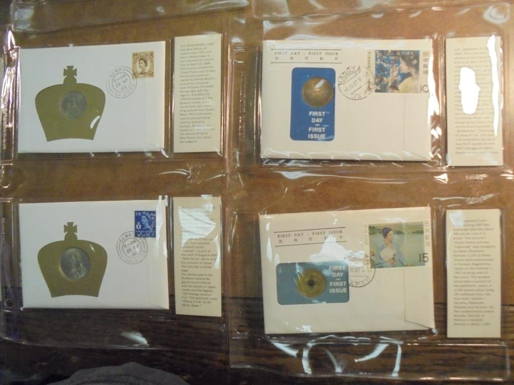 19 ASSORTED 1ST DAY COVERS 1967-1969 - 5