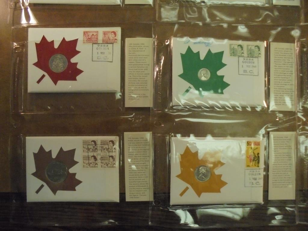 19 ASSORTED 1ST DAY COVERS 1967-1969 - 6