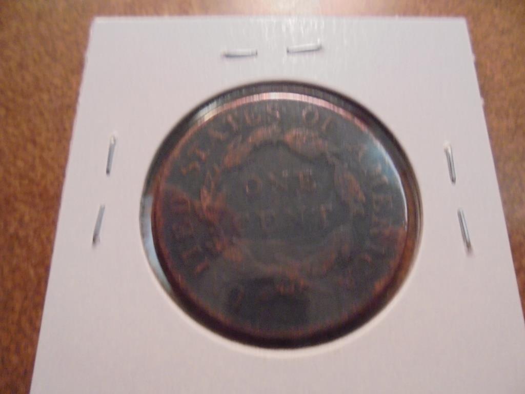 1819 US LARGE CENT - 2
