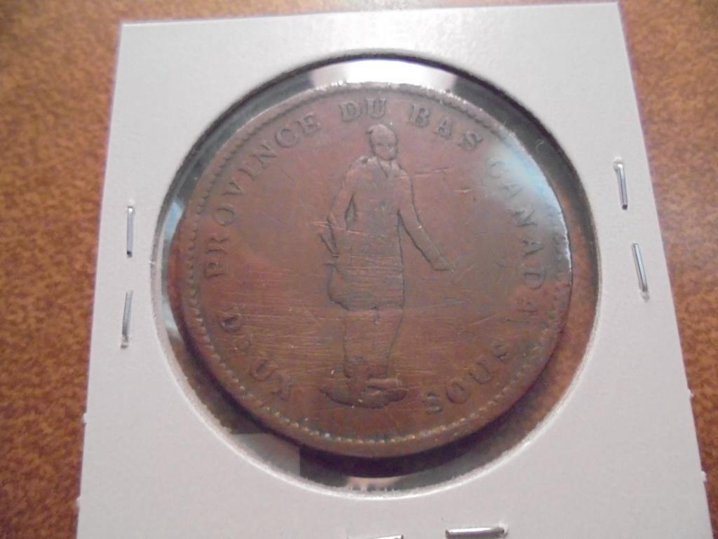 1837 CANADA 1 PENNY BANK TOKEN - 2