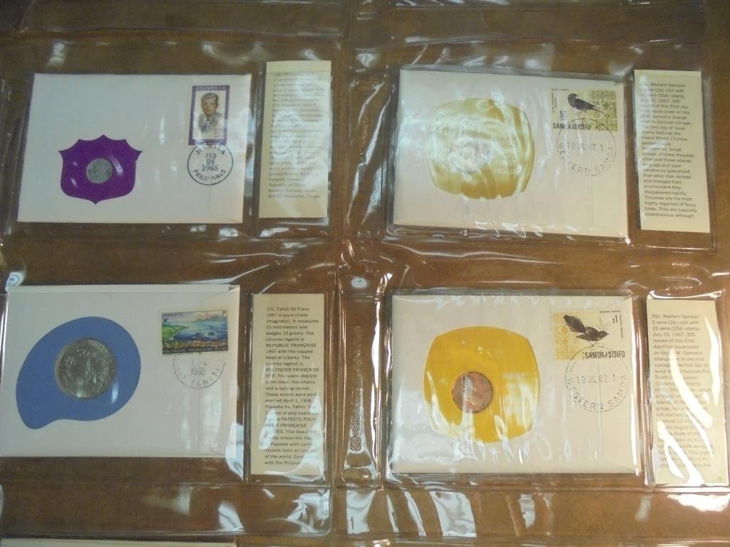 23 ASSORTED 1ST DAY COVERS 1966-1976 - 4