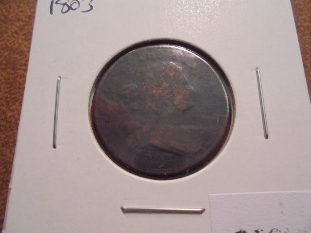 1803 US HALF CENT