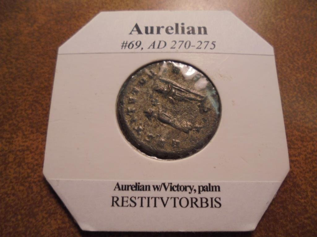 270-275 A.D. AURELIAN ANCIENT COIN VERY FINE - 2