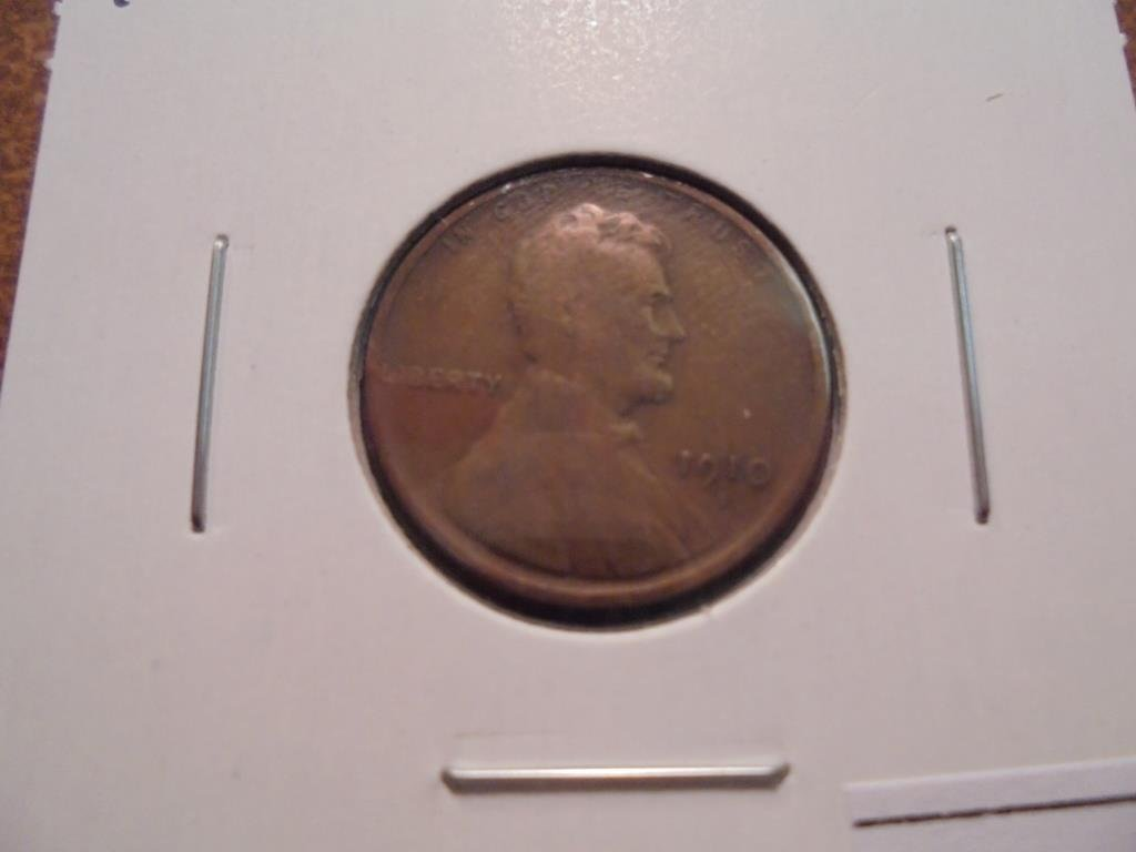 1910-S LINCOLN CENT (SEMI-KEY) VERY GOOD