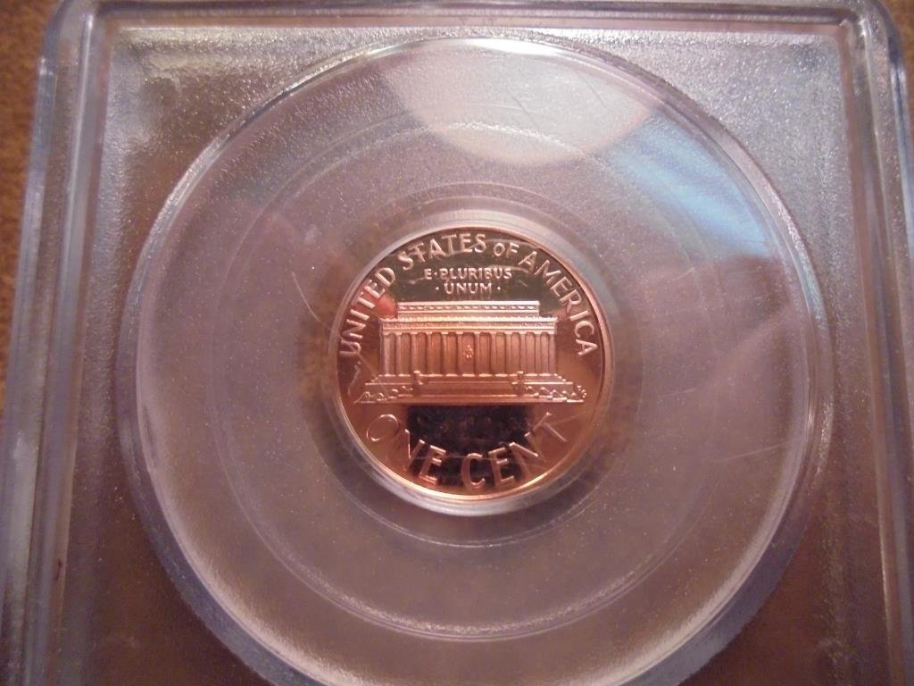 1998-S LINCOLN CENT PCGS PR69RD DCAM - 2
