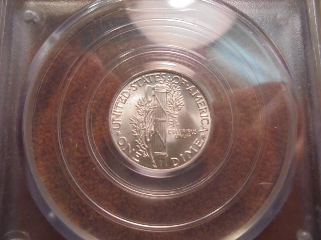1945 MERCURY DIME PCGS MS65 - 2