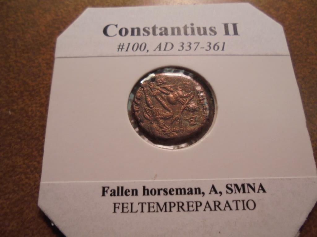 337-361 A.D. CONTANTIUS II ANCIENT COIN - 2