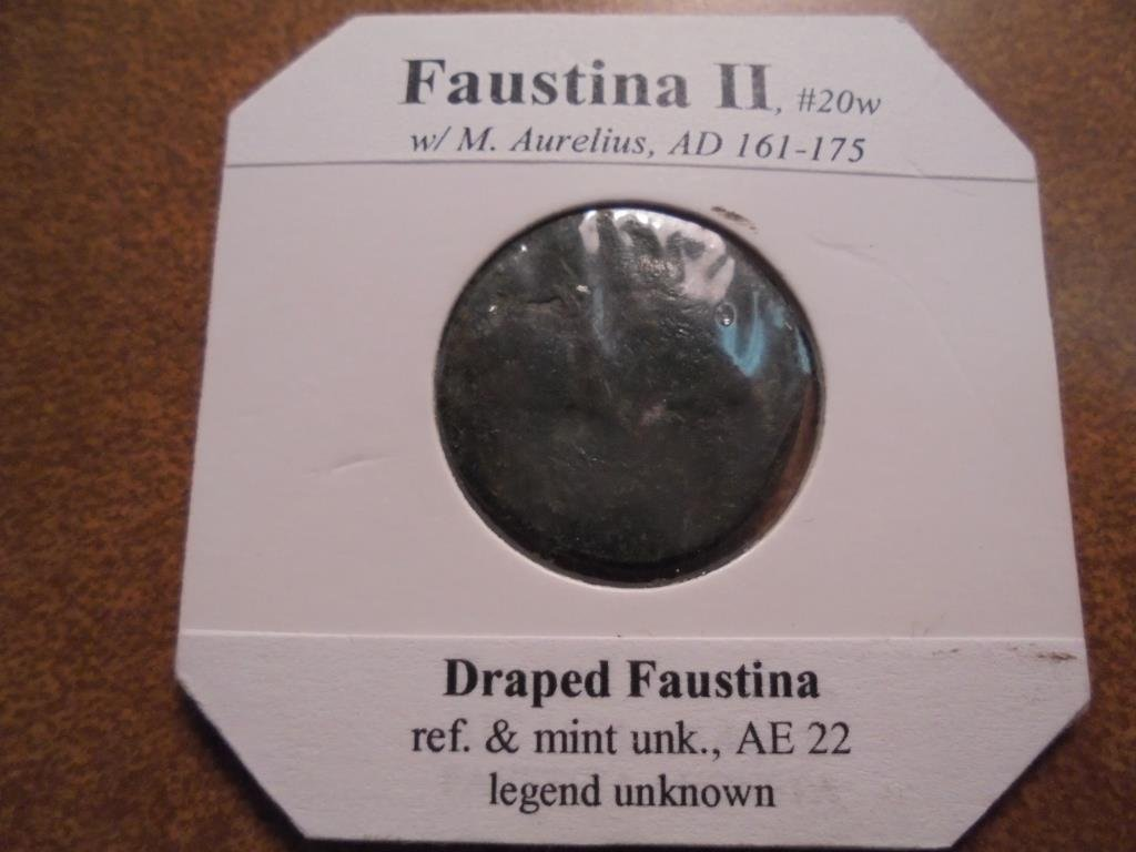 161-175 A.D. FAUSTINA II ANCIENT COIN - 2