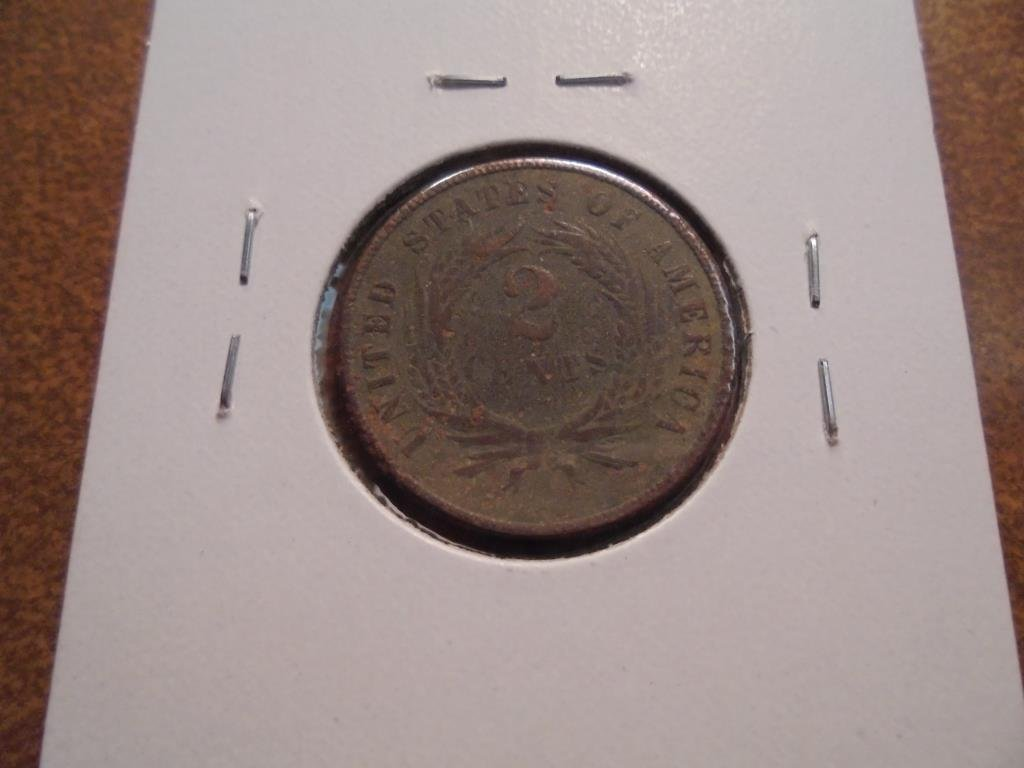 1871  US TWO CENT PIECE - 2
