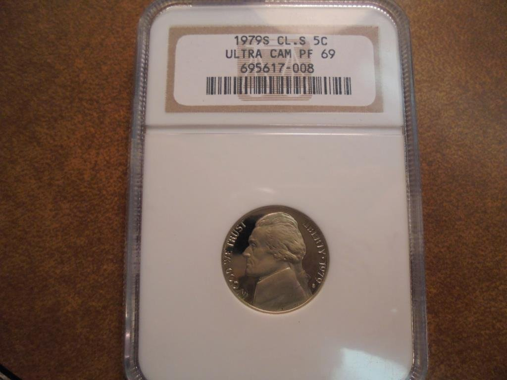 1979-S CLEAR S JEFFERSON NICKEL NGC PF69 ULTRA CAM
