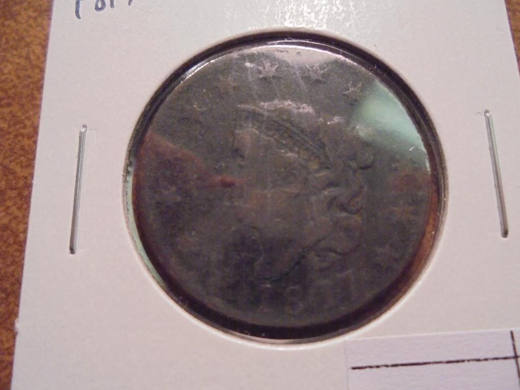1817 US LARGE CENT