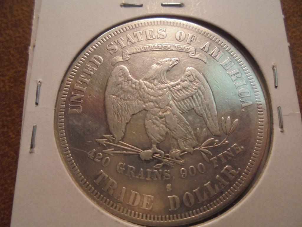 1877-S US TRADE DOLLAR - 2