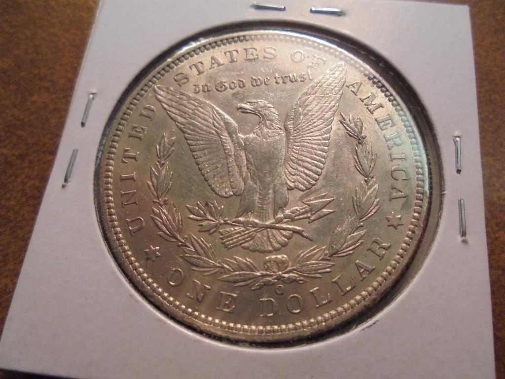 1887-O MORGAN SILVER DOLLAR AU - 2