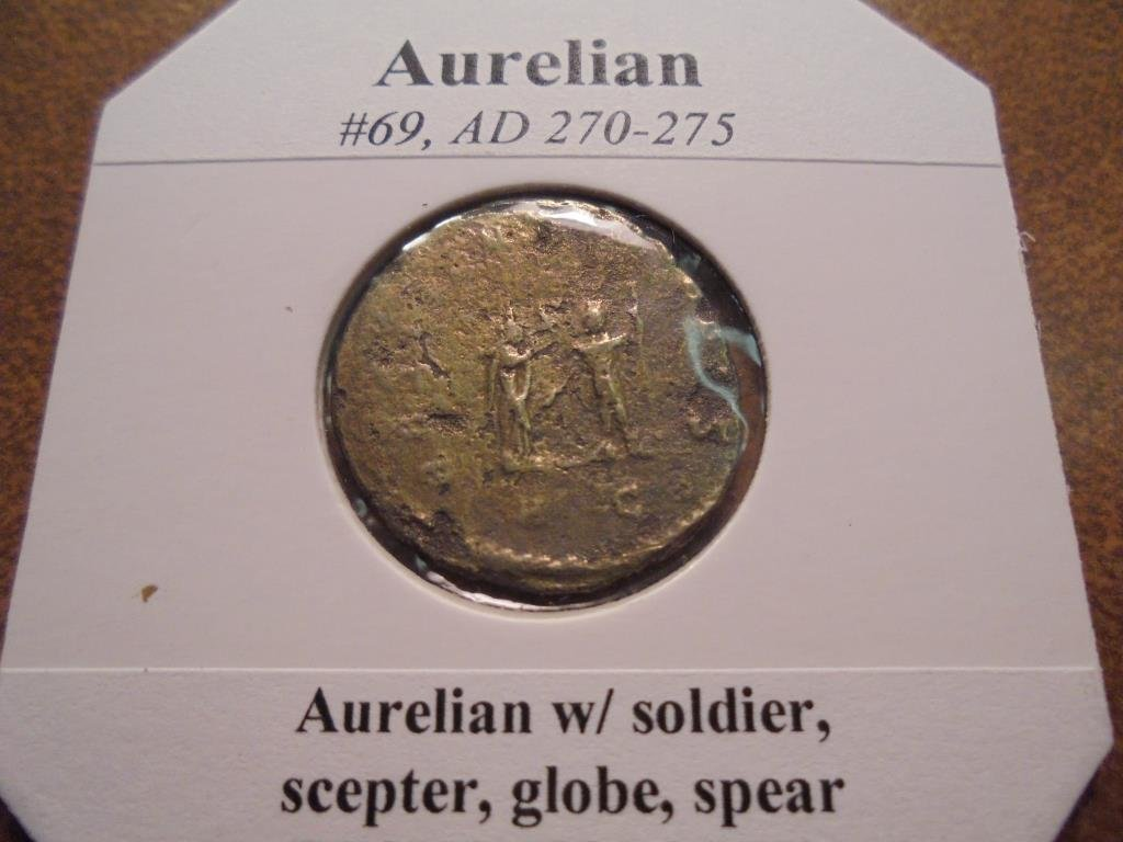270-275 A.D. AURELIAN ANCIENT COIN - 2