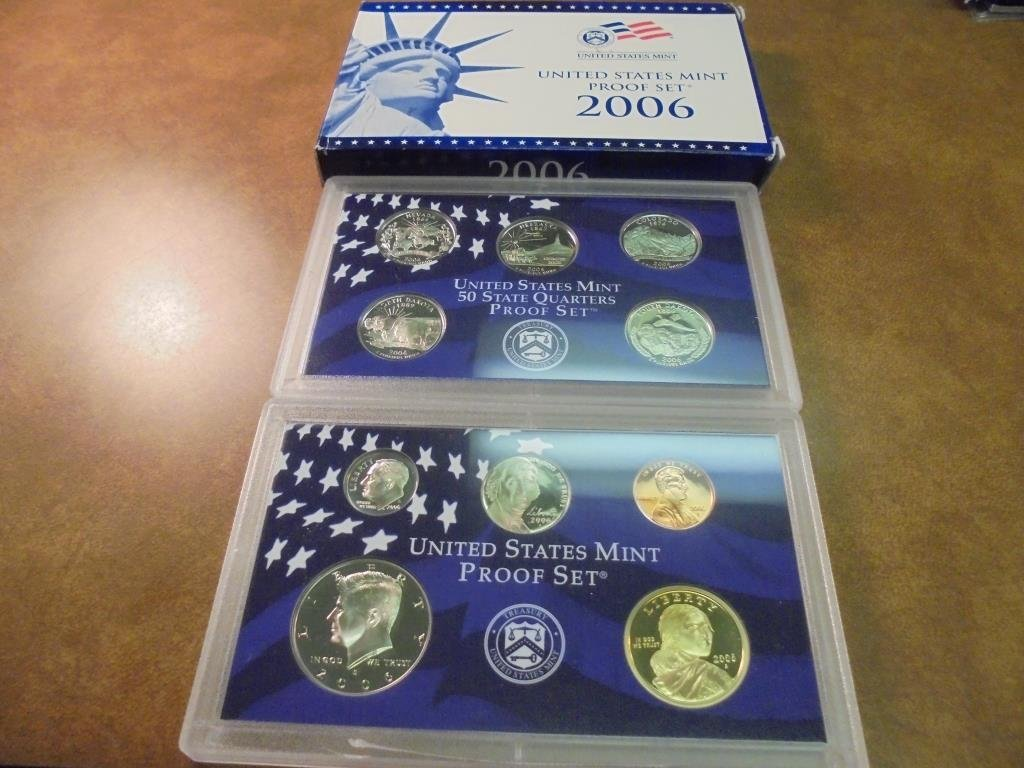 2006 US PROOF SET (WITH BOX)