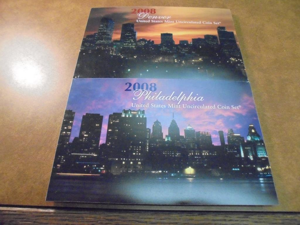 2008 US MINT SET (UNC) P/D BETTER DATE SET