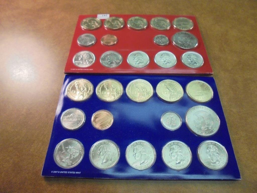 2008 US MINT SET (UNC) P/D BETTER DATE SET - 2