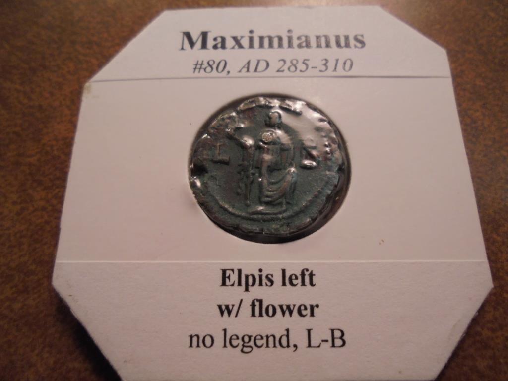 285-310 A.D. MAXIMIANUS ANCIENT COIN EXTRA FINE - 2