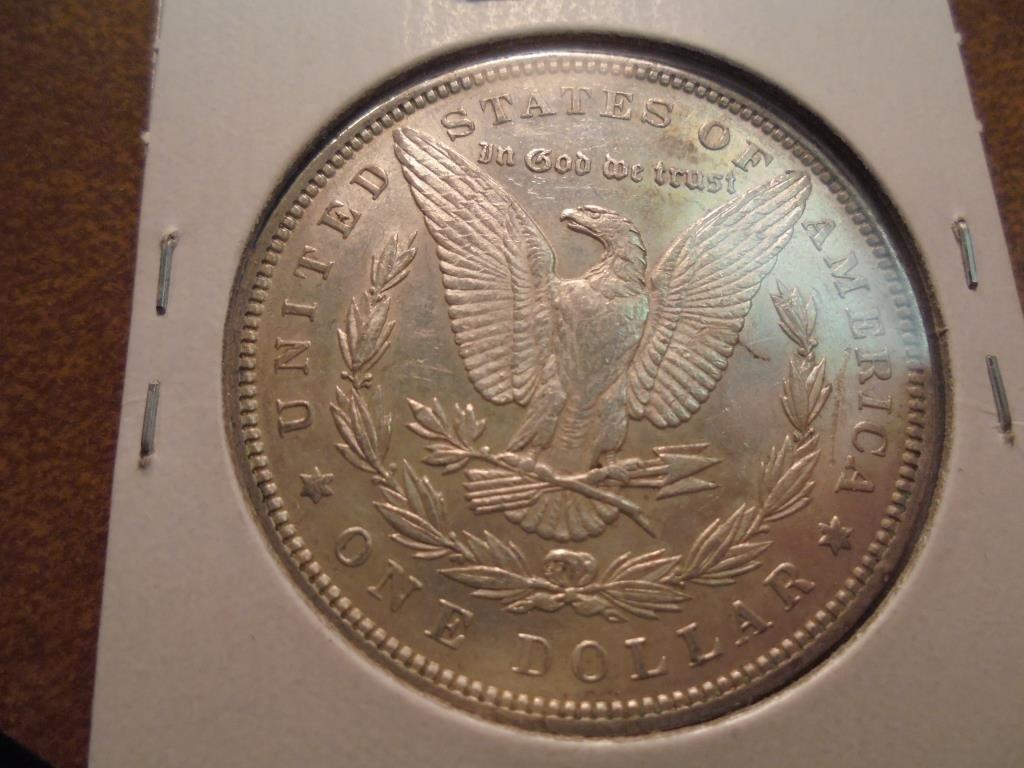1891 MORGAN SILVER DOLLAR - 2