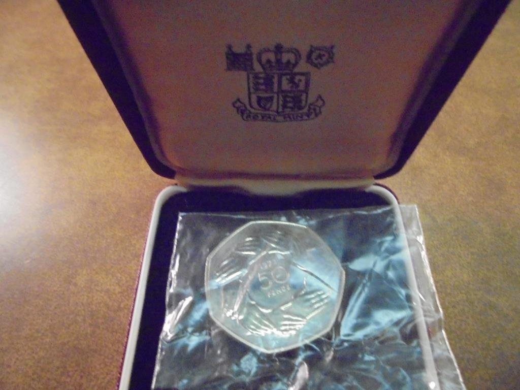 1973 GREAT BRITAIN 50 PENCE UNC