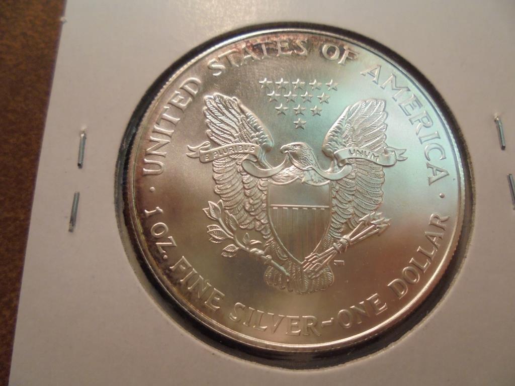 1995 AMERICAN SILVER EAGLE UNC - 2