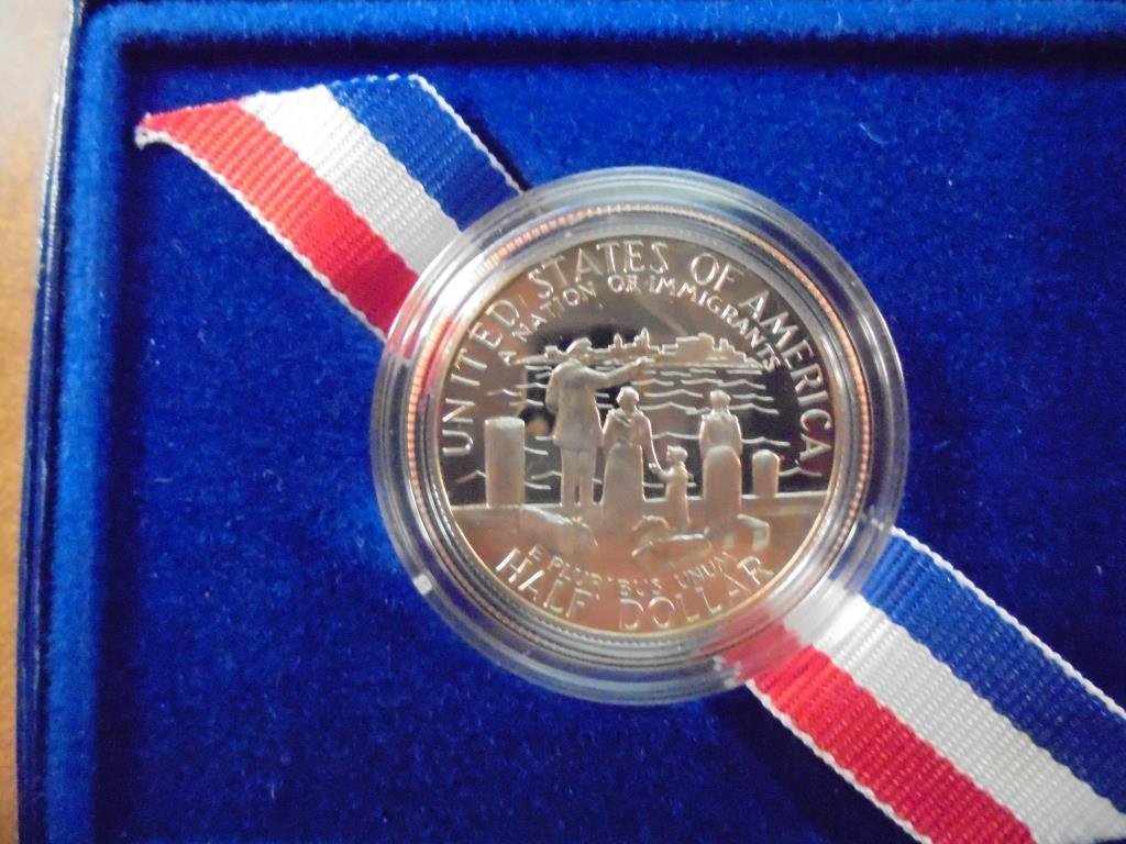 1986-S STATUE OF LIBERTY PROOF HALF DOLLAR - 2