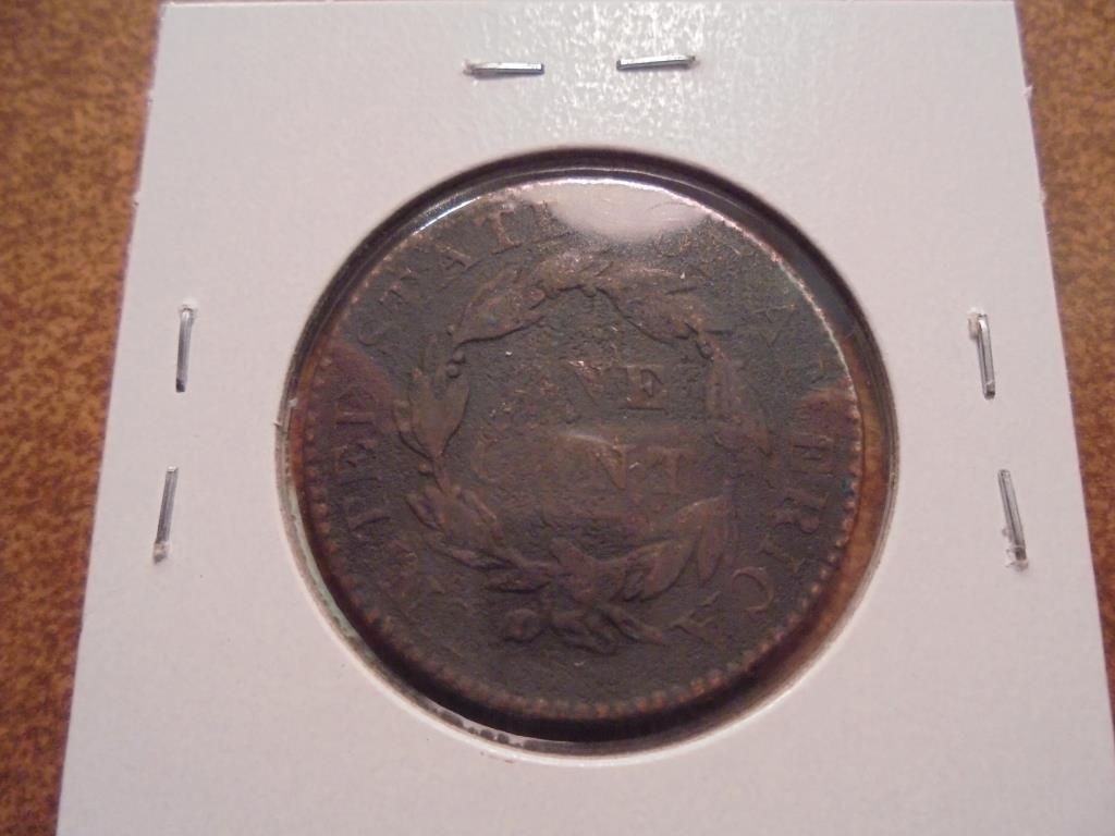 1829 US LARGE CENT - 2