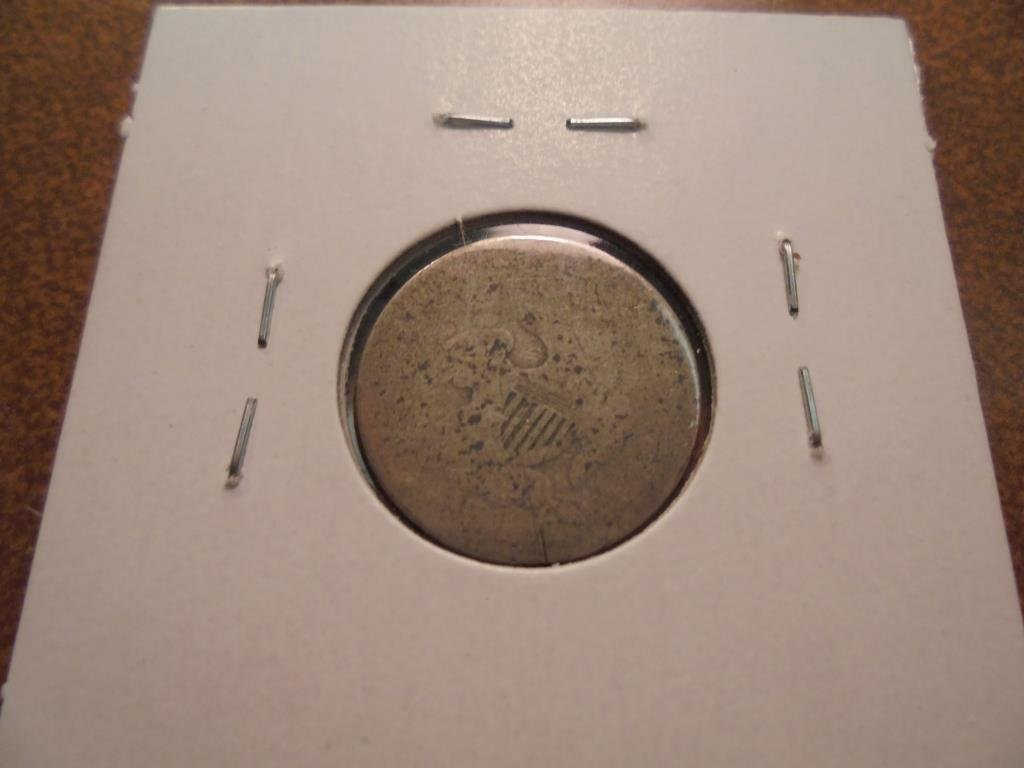 1837 CAPPED BUST DIME - 2