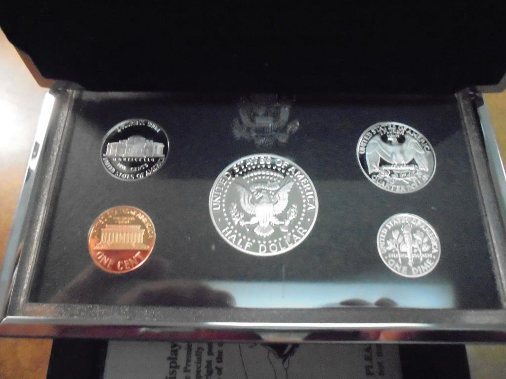 1995 US SILVER PREMIER PROOF SET (WITH BOX) - 2