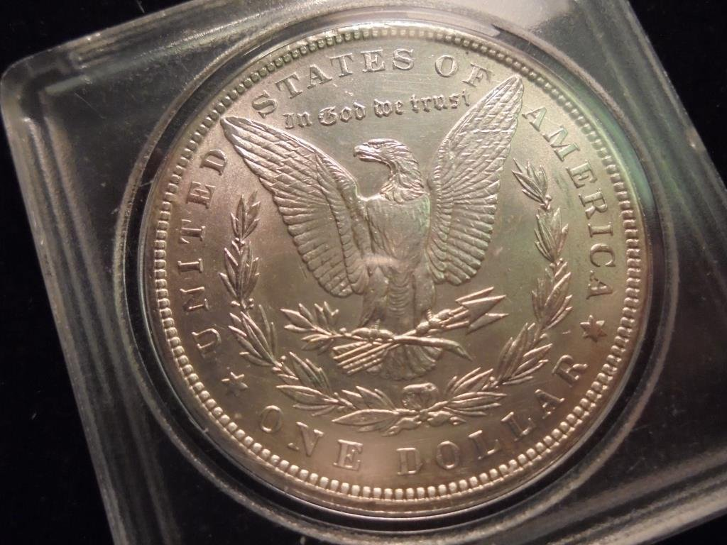 1898 MORGAN SILVER DOLLAR UNC - 2